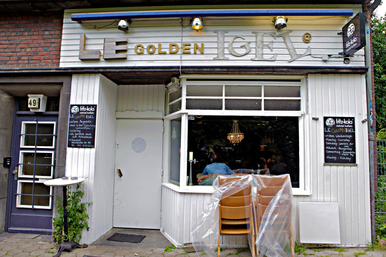 Hamburg Le Golden Igel - JoeBaur