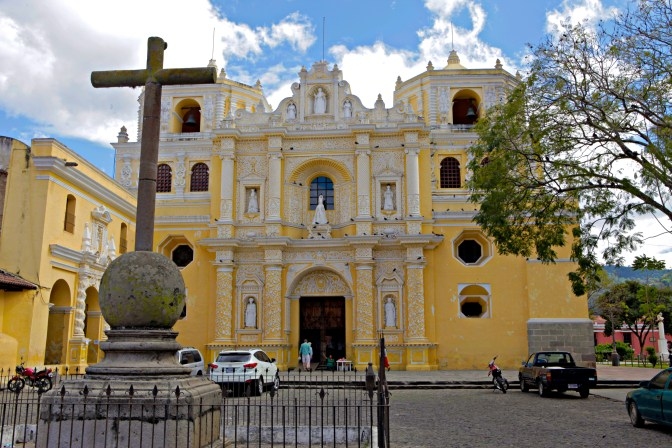 La Merced Church in Antigua, Guatemala