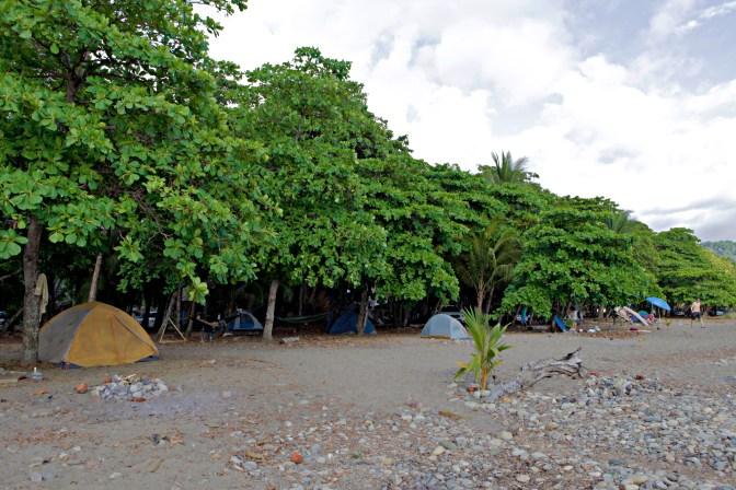 Dominical Costa Rica Beach Camping - JoeBaur