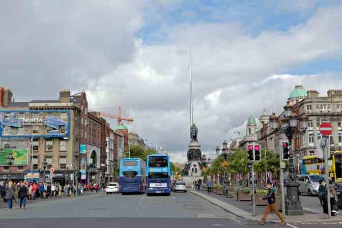Downtown Dublin Ireland - JoeBaur