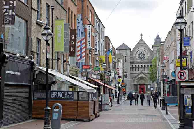 Grafton Street Dublin Ireland - JoeBaur