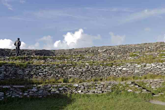 Grianan Aileach in County Donegal, Ireland