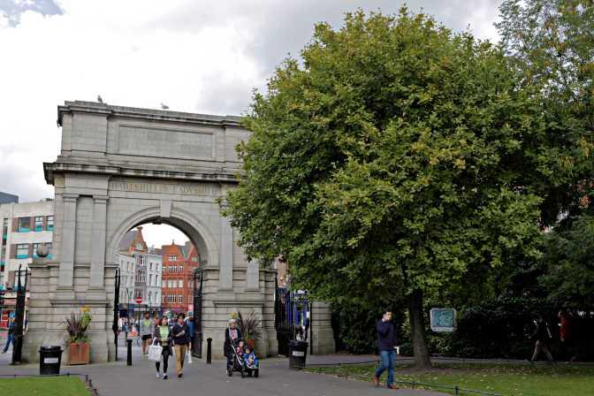 St. Stephen's Green Entrance Dublin - JoeBaur