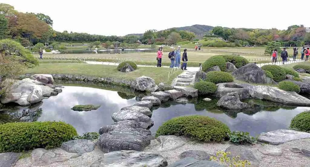 Stepping Stones Okayama Castle Japan