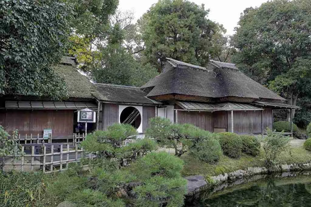 Tea Room Okayama Castle Japan