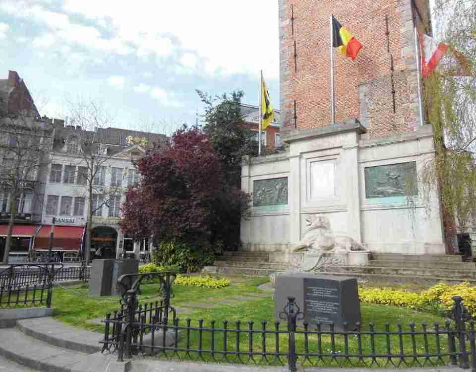 Kortrijk Belgium City Center