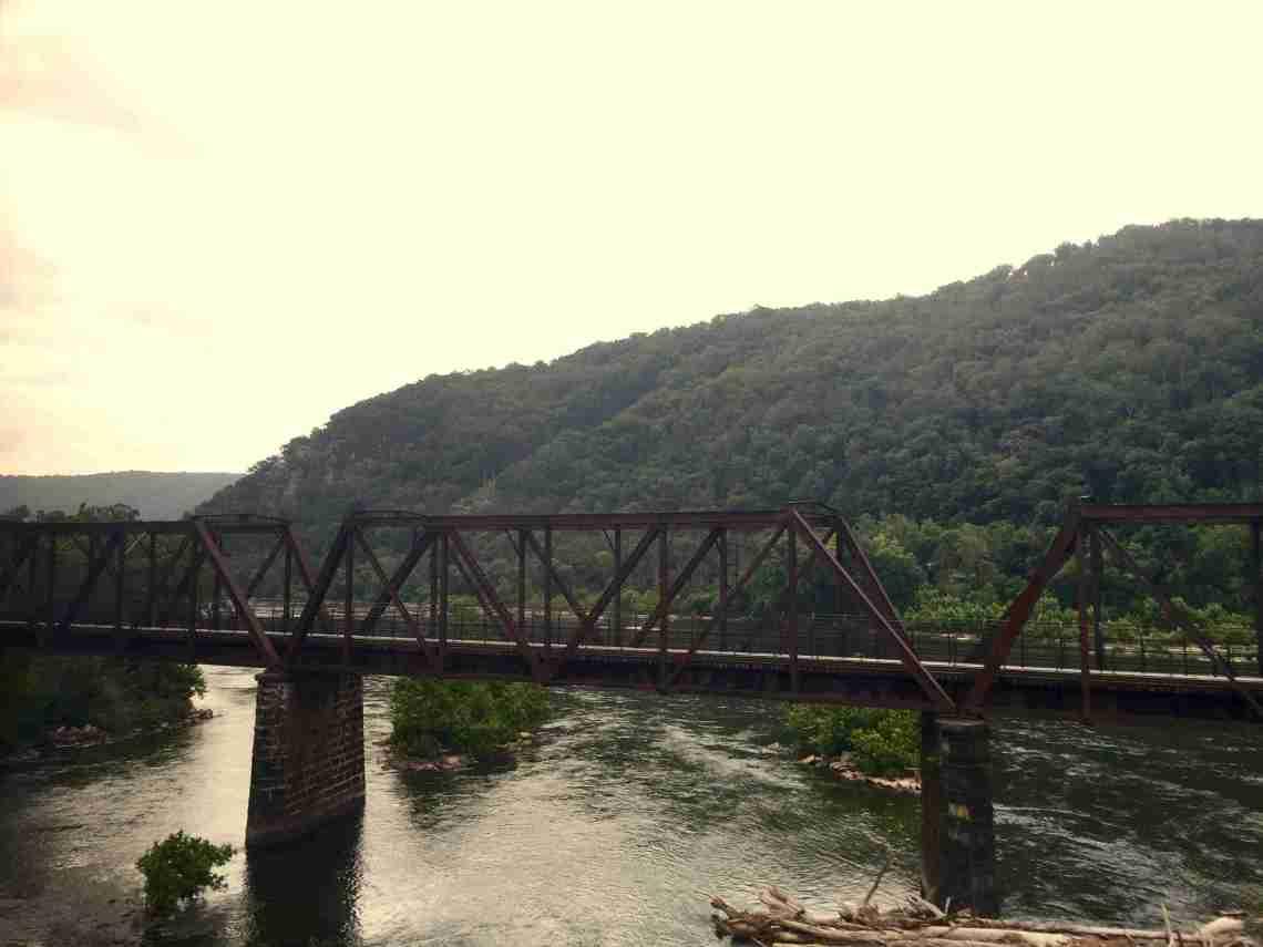 Bridge over river in Pennsylvania