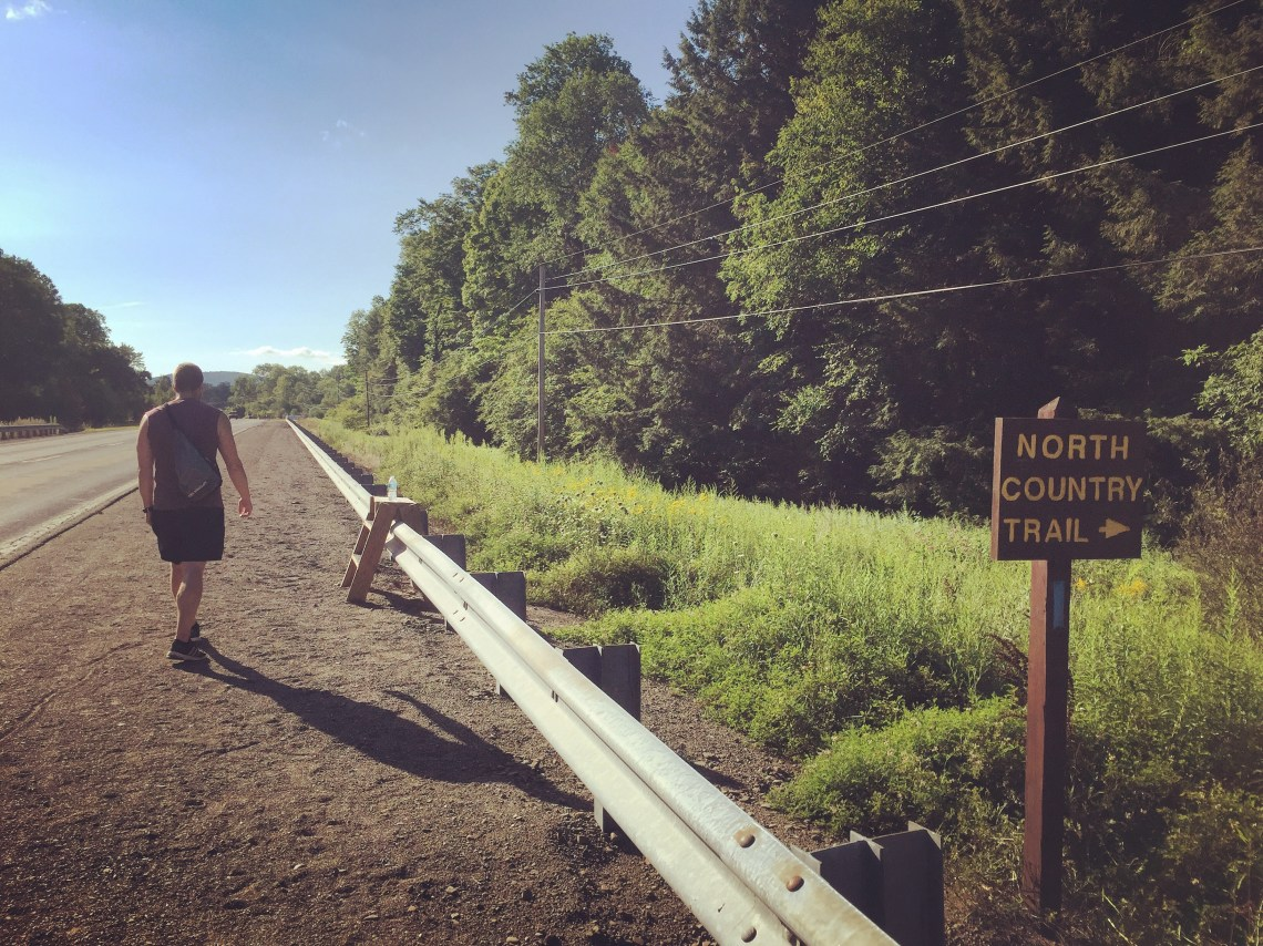 North Country Trailhead in Pennsylvania's Allegheny National Forest