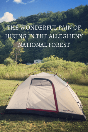 The Wonderful Pain of Hiking in the Allegheny National Forest