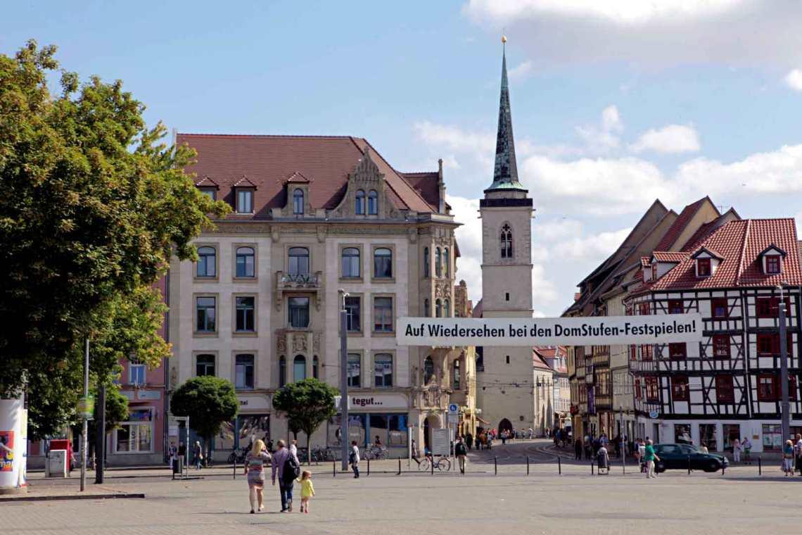 Altstadt Erfurt, Germany