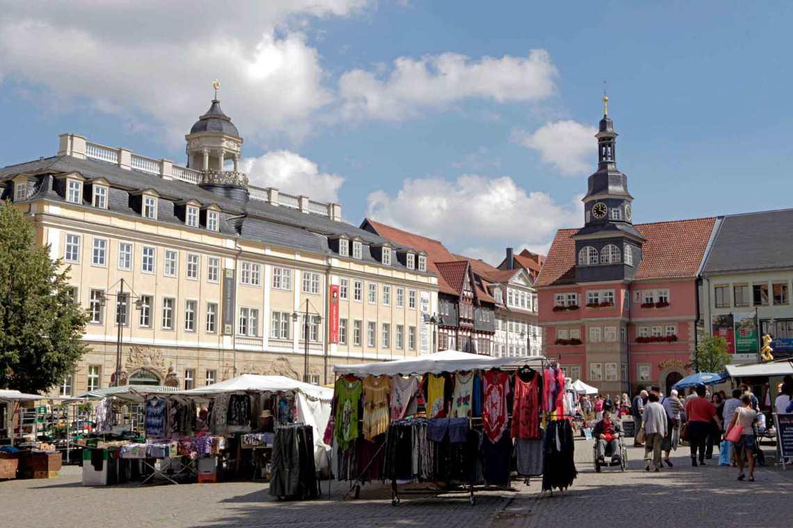 Marktplatz Eisenach, Germany