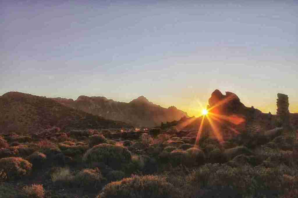 Teide-National-Park-Sunset-in-Tenerife-Spain