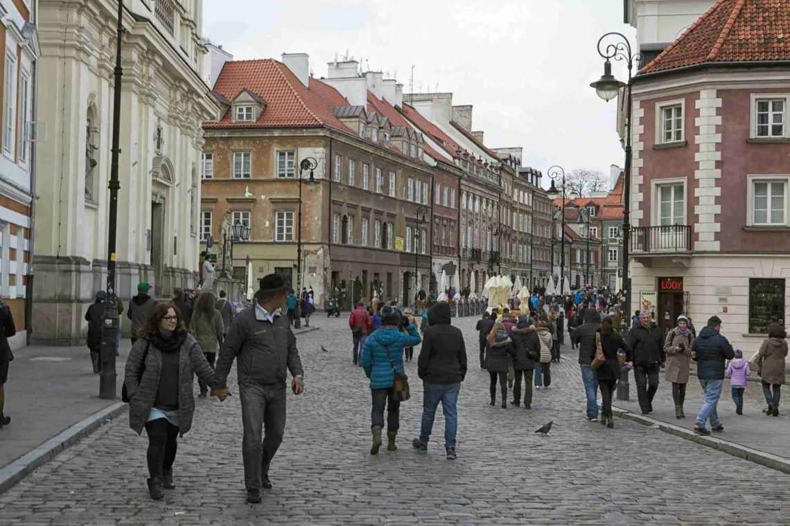 Old Town Warsaw Street