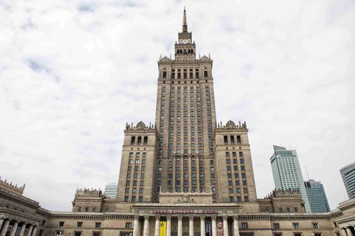 Palace of Culture and Science Warsaw Poland