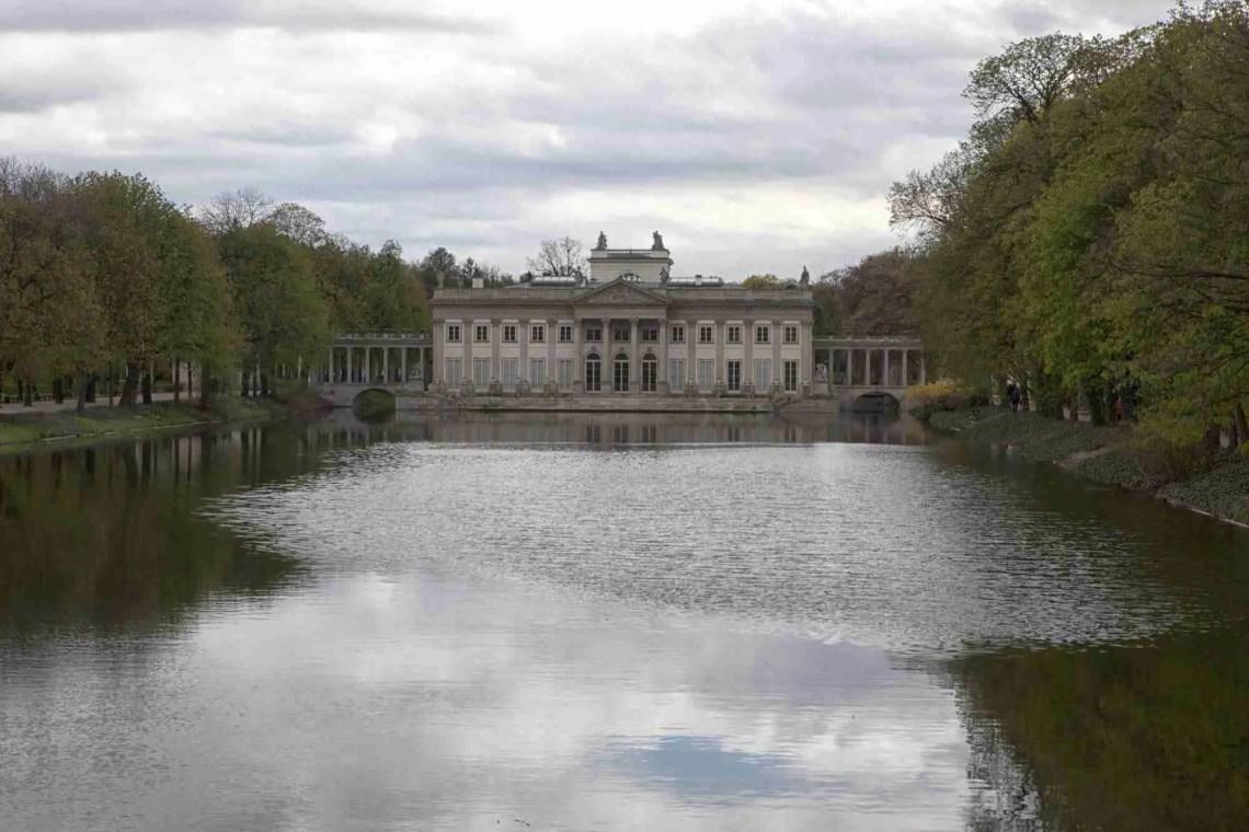 Palace on the Isle Warsaw