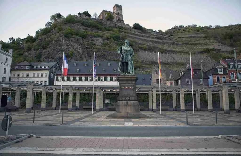 Blücher Denkmal Kaub Germany Rheinsteig