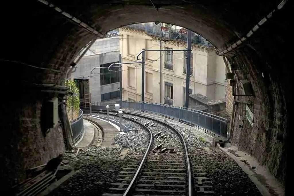 Lyon France Train Tunnel