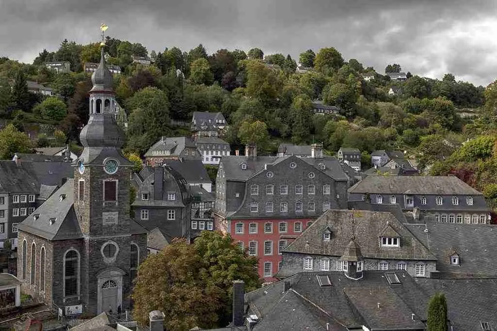 Monschau, Germany Skyline