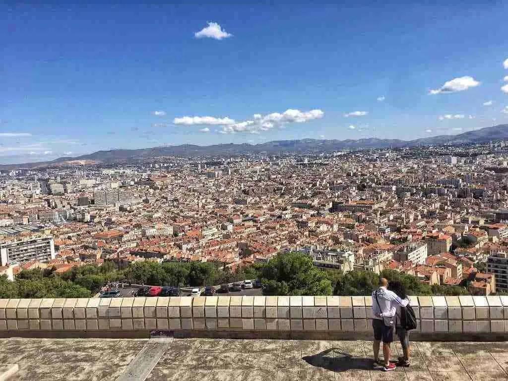 Notre-Dame de la Garde Marseille View