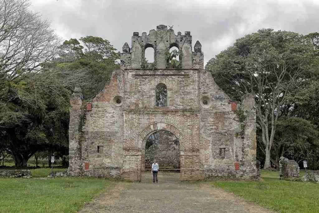Ruinas de Ujarras Orosi Valley Costa Rica