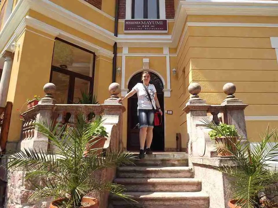 Pensiunea Mayumi Moneasa Romania