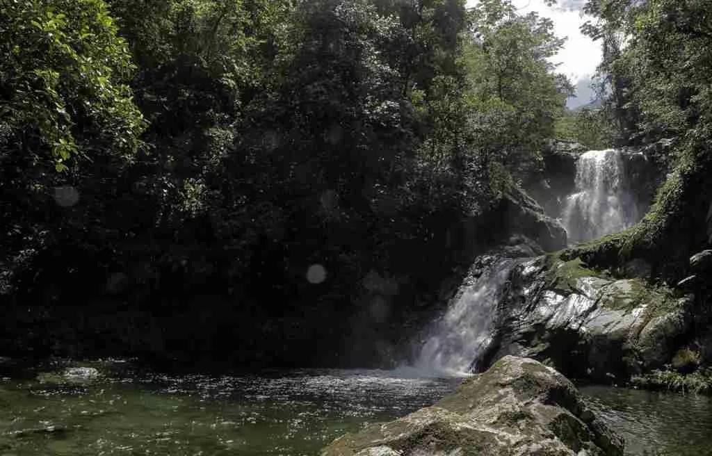 Unbelievable Falls Pico Bonito National Park Honduras