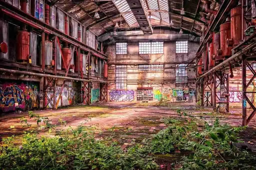 Empty Factory Building