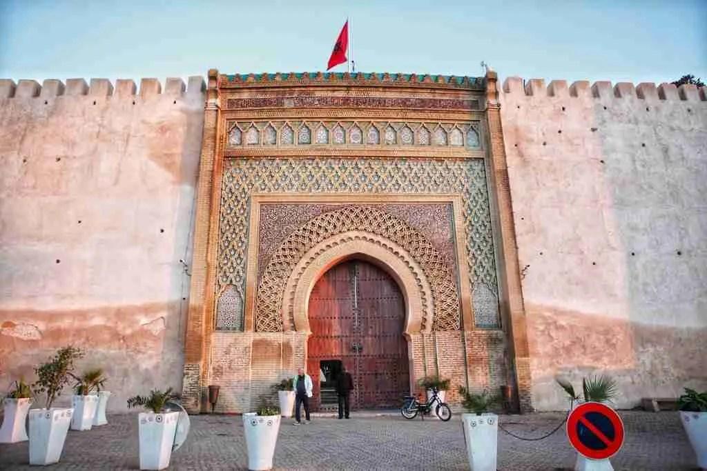 Bab Mansour Laleuj in Meknes, Morocco