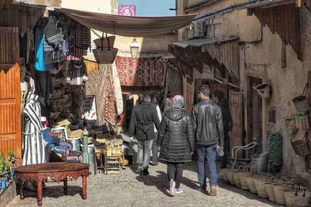 Souks in Fez, Morocco