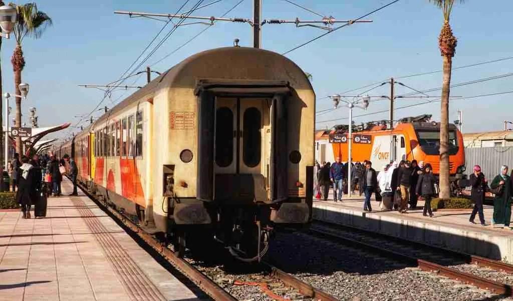 Marrakech Train Platform