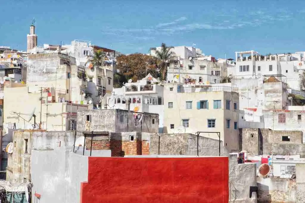 Tangier, Morocco Skyline