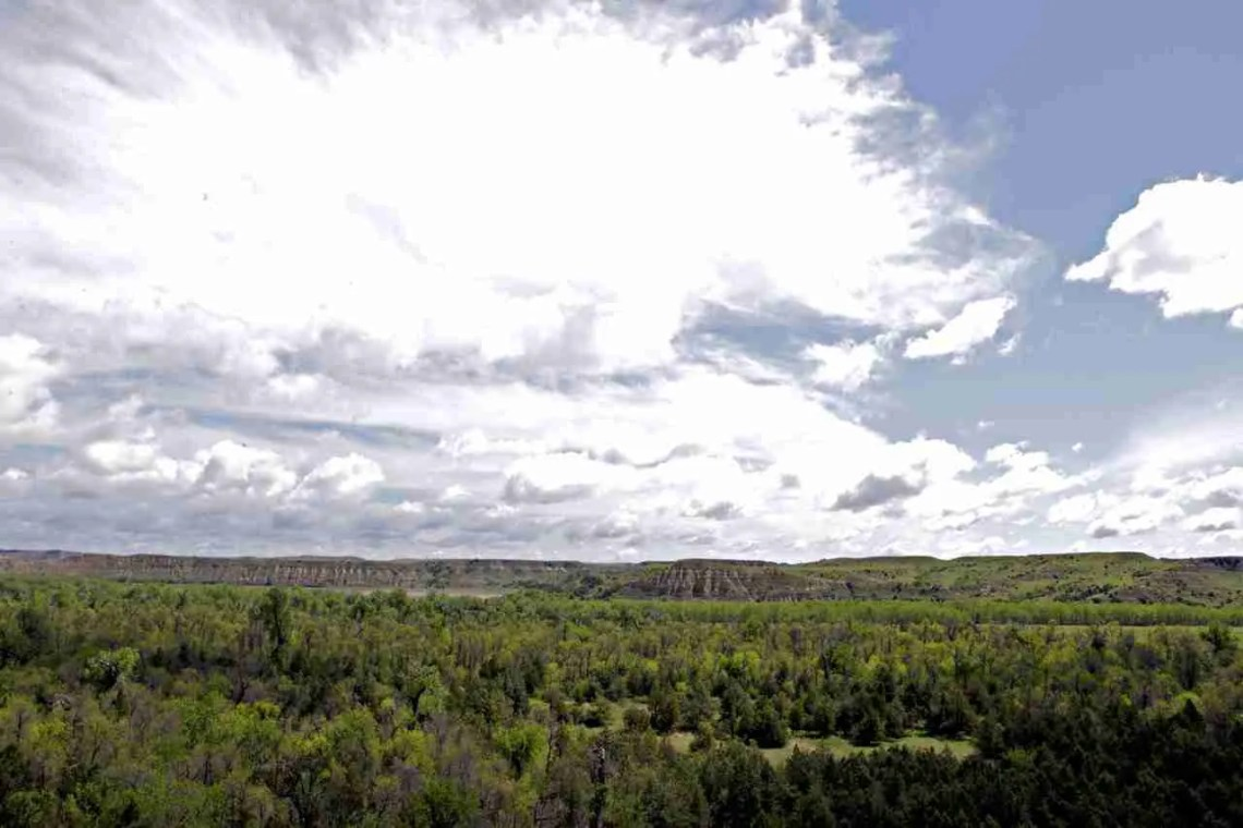 Badlands Theodore Roosevelt National Park North Dakota
