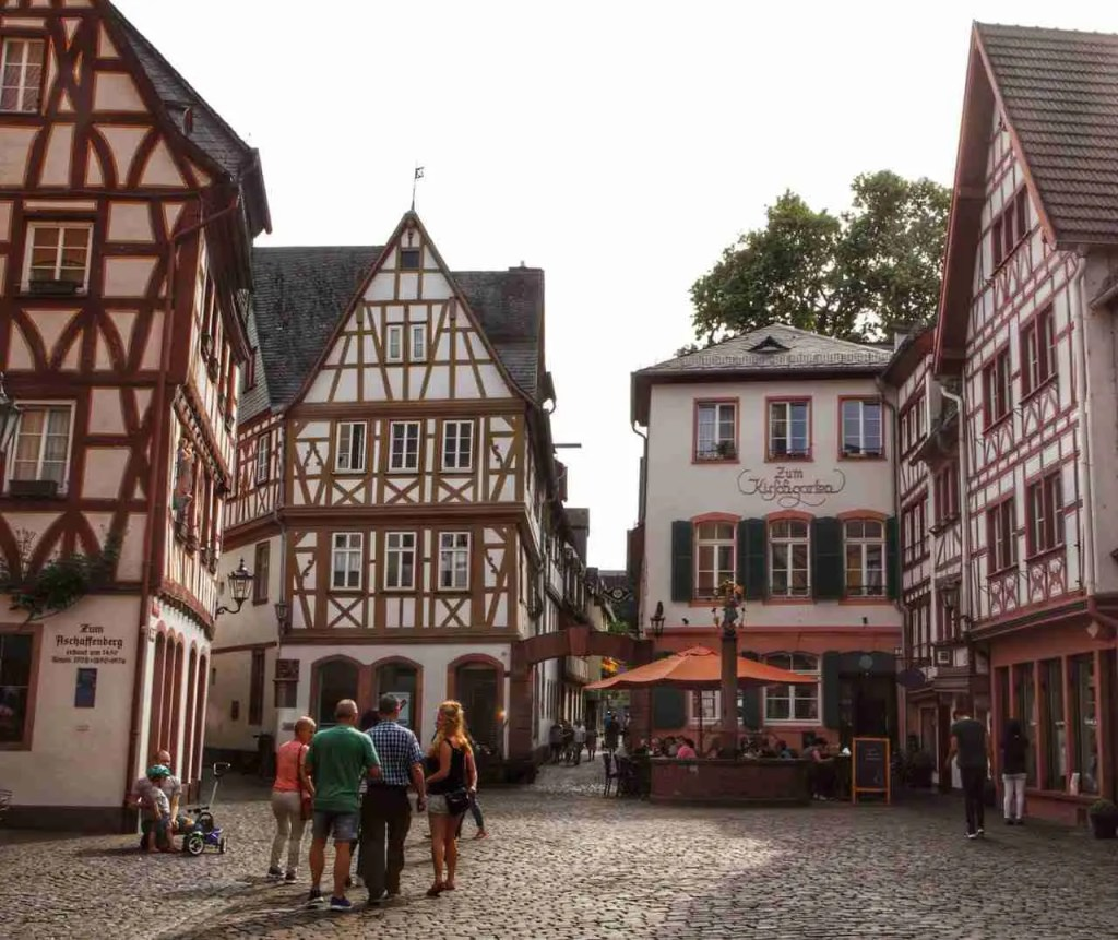 Mainz Old Timber Houses