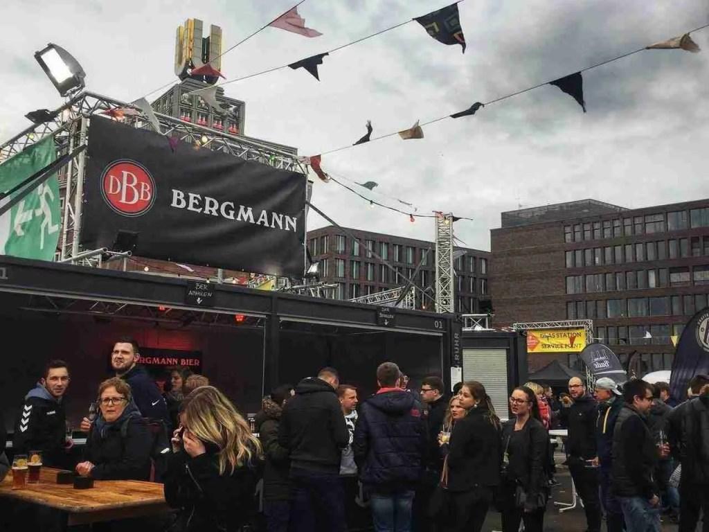 Bergmann Brauerei at the Dortmund Beer Festival