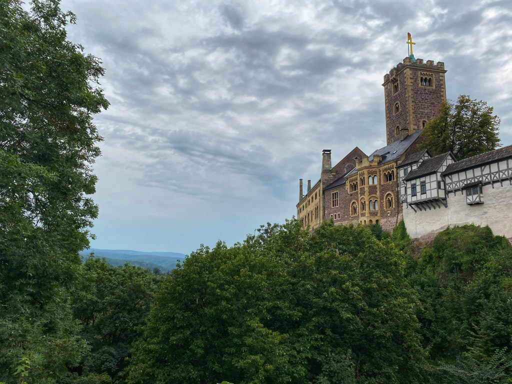 Wartburg Castle in Eisenach