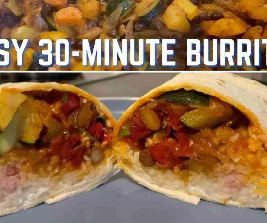 easy 30-minute burritos