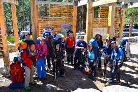 Day 1 - team at trail head