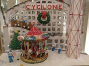 Gingerbread house, scene from Coney Island