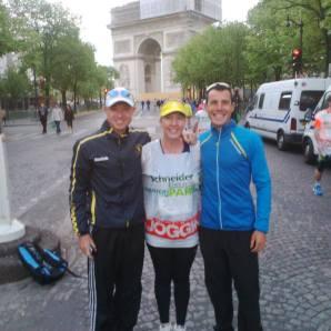 Paris Marathon - Pre-Race with Kirsten and Fiona