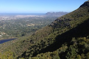 Table Mountain - Looking South-East