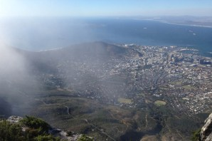 Table Mountain - Downtown Through the Cloud