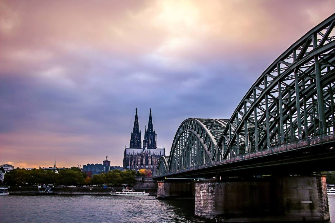 Cologne, Germany Bridge