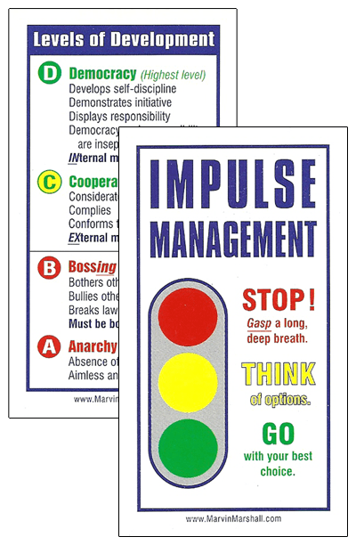 Tools Impulse Management Levels Of Development Cards
