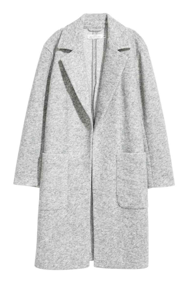 Manteau en laine mélangée - H&M