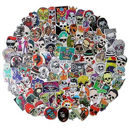 stickers of skulls