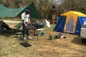 長瀞オートキャンプ場でデイキャンプ!