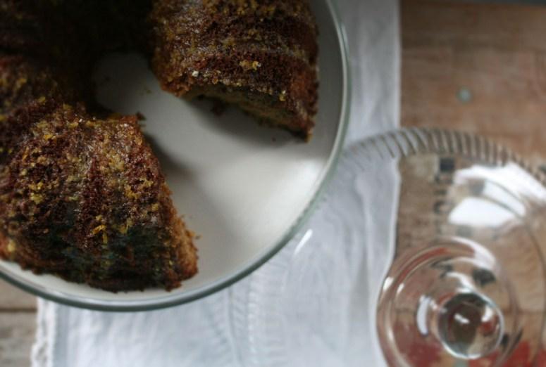 Pecan Spice Cake
