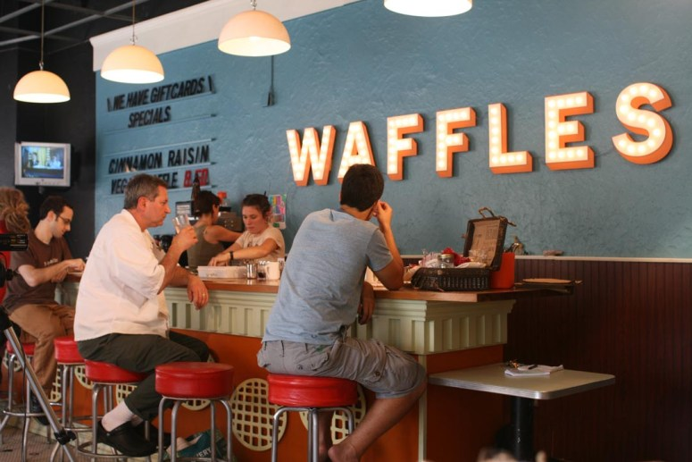 Yes, They Really Serve Waffles