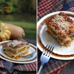 An Ode To A Cabin In Autumn: A Fall Flavored Lasagna