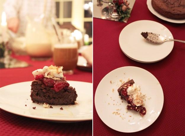 Christmas Cake Slices